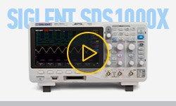 Видеообзор фосфорных цифровых осциллографов SIGLENT серии SDS1000X