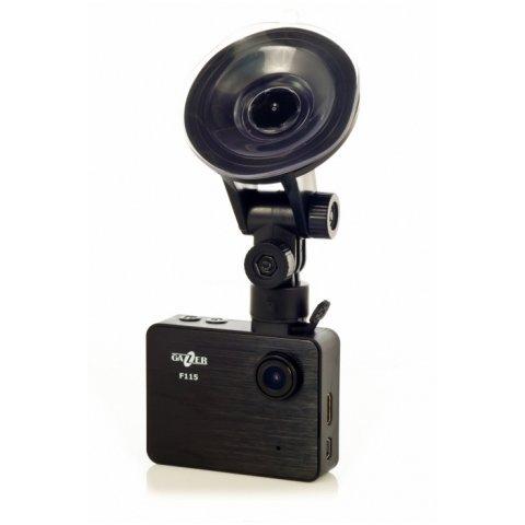 Автомобильный видеорегистратор c монитором Gazer F115