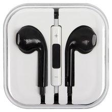 Гарнитура для мобильных телефонов Apple iPhone 4, iPhone 4S, iPhone 5, iPhone 5C, iPhone 5S, iPhone 6, iPhone 6 Plus, черная - Краткое описание