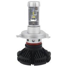 Набір світлодіодного головного світла UP X3HL H4W 6000LM H4, 6000 лм, холодний білий  - Короткий опис