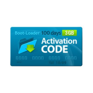Boot-Loader v2.0 Activation Code (100 days, 3 GB)
