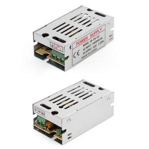 LED Strip Power Supply 12 V, 1.25 A (15 W), 110-220 V