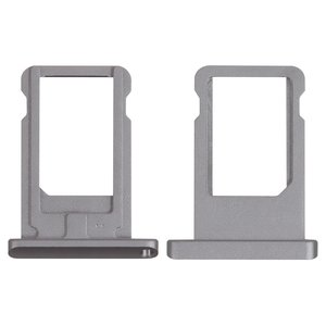 SIM-card Holder for Apple iPad Air (iPad 5), iPad Mini 2 Retina Tablets, (black)