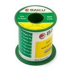 Estaño BAKU BK-10006, Sn 97% , Ag 0,3%, Cu 0,7%, flujo 2%, 0,6 mm, 100 g