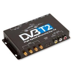 Sintonizador digital de TV con 4 antenas para coche DVB-T2
