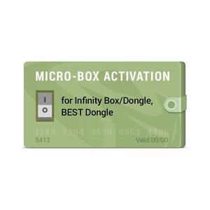 Активация Micro-Box для Infinity-Box/Dongle, BEST Dongle, Infinity CDMA-Tool