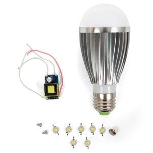 Комплект для сборки LED-лампы SQ-Q03 E27 7 Вт – теплый белый