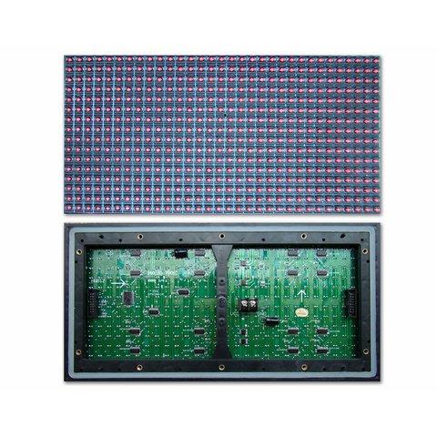 LED модуль для реклами P10 Blue 320 × 160 мм, 32 × 16 точок, IP65, 2000 нт