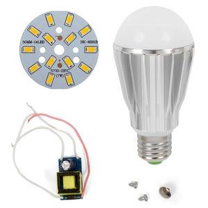 Комплект для сборки LED-лампы SQ-Q17 5730 E27 7 Вт – теплый белый