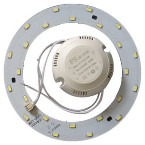 Комплект для збирання світлодіодного світильника 12 Вт (природний білий, круглий, 4000-4500 К)