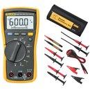 Цифровий мультиметр Fluke 115 + вимірювальний набір TLK-225-1