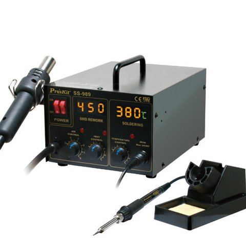 Hot Air Soldering Station Pro'sKit SS 989A 110 V